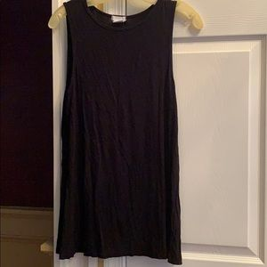Cooperative Black Tank Dress